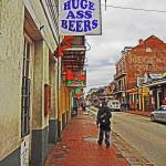 """Bourbon Street, New Orleans"" by louismaistros"