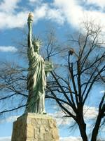 Statue of Liberty in Chimborazo Park