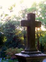 Cross with Sunlight