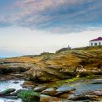 """Beavertail Lighthouse RI -3527"" by pixelcene"