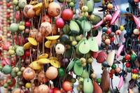 Hanging Tagua Beads