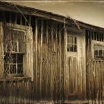 """Old Log Cabin"" by beckybarnhardt"