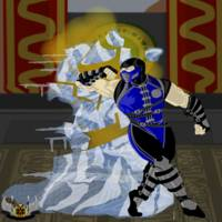 Sub-Zero vs Scorpion, Fatality