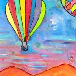 """Balloons Over New Mexico 3"" by SimplyColor"