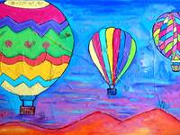 Balloons Over New Mexico 4