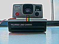 Polaroid camera Colour