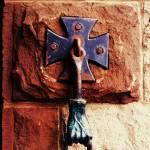 """""""Gothic Iron Hand Door Holder"""" by ARTBOX"""
