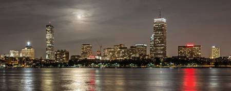 Boston Super Moon