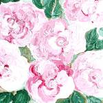 """""""Vintage Pink Roses"""" by cupcakeartstudio"""