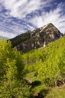 Mountain in Provo Canyon Utah