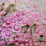 """pinkroses birdy angelsFA"" by ArtSamadhi"