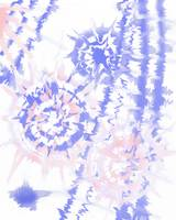 circle tie dye soft pink and indigo