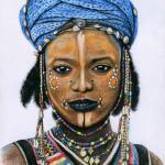 """Young Wodaabe Man"" by ArtsandDogs"