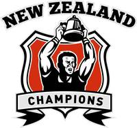 Rugby player New Zealand championship cup