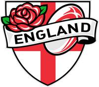 Rugby England English Rose Ball Shield