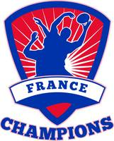 Rugby Player France  Champions