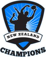 Rugby Player  New Zealand Champions