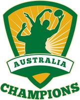 Rugby Player Australia Champions