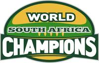 rugby ball world champions south africa
