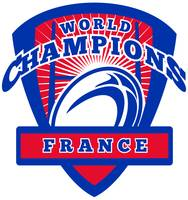 Rugby ball France World Champions