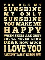 lha-355-18x24-45 you are my sunshine