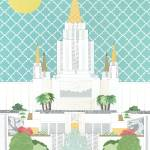 """Oakland, California LDS Temple"" by AZeleskiCollages"