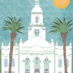 """Tijuana, Mexico LDS Temple"" by AZeleskiCollages"