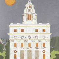 Nauvoo, Illinois LDS Temple Art Prints & Posters by Amy Zeleski