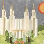 """Washington D.C. LDS Temple"" by AZeleskiCollages"