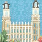 """Manti, Utah LDS Temple"" by AZeleskiCollages"