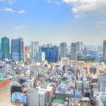 """""""View from Atago Forest Tower on Shimbashi"""" by rein"""