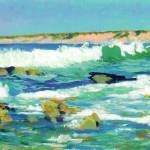 """La Jolla Waves By RD Riccoboni"" by BeaconArtWorksCorporation"