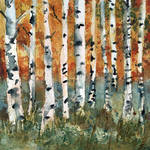 """Tree painting, Birch Trees"" by schulmanart"