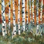"""Tree painting, Birch Trees"" by schulmanart"