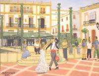 Dancing in the Plaza de Espana - Ronda Spain