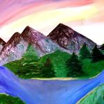 """""""Mineral Mountain enlarge"""" by Sharixon"""