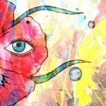 """Floating Fleur - essence enlarge"" by Sharixon"