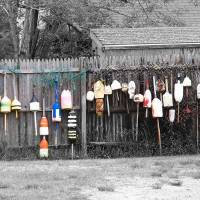 """Buoys on the line"" by Christine Grubbs"