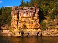 Wisconsin Dells rock
