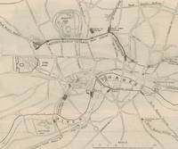 Antique Map of the London Undergound