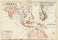 Map of South-Eastern Asia and Northern Australia (
