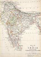 Antique Map of India