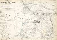 Map of the Battle of Mount Thabor