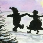 """""""Santa Dancing"""" by justineehlers"""