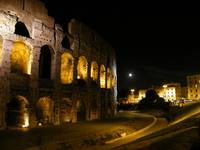 Colloseo at midnight