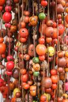 Strands of Tagua Beads at the Otavalo Market