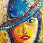 """Blue Hat"" by zayani"