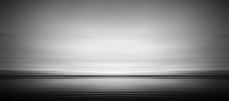 Sleak Seashore (Black & White)