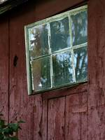 Cottage Window and Hidden Hinge