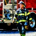 """Fireman"" by susansartgallery"